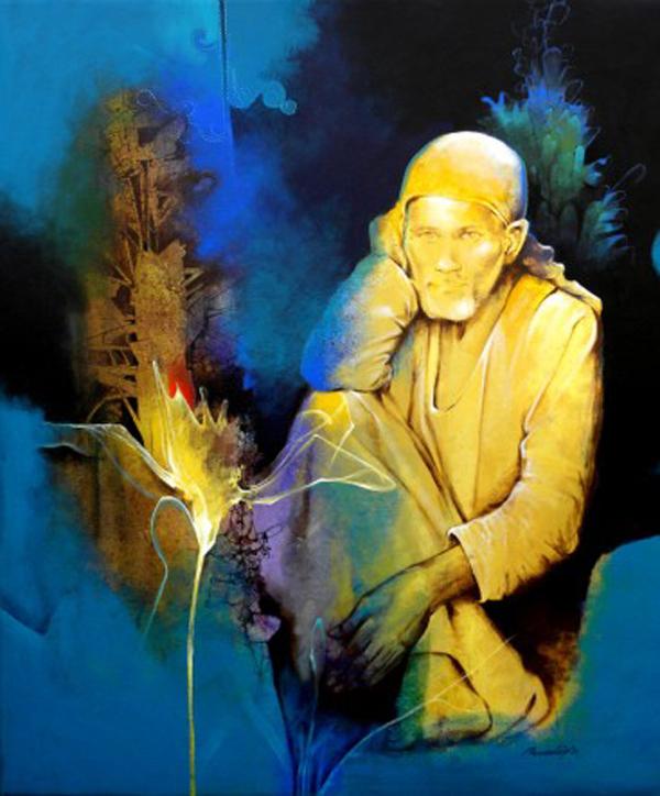 Painting by Pradip Sengupta
